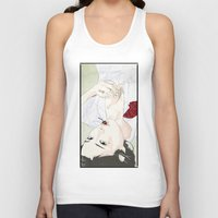 cherry Tank Tops featuring cherry by SEVENTRAPS