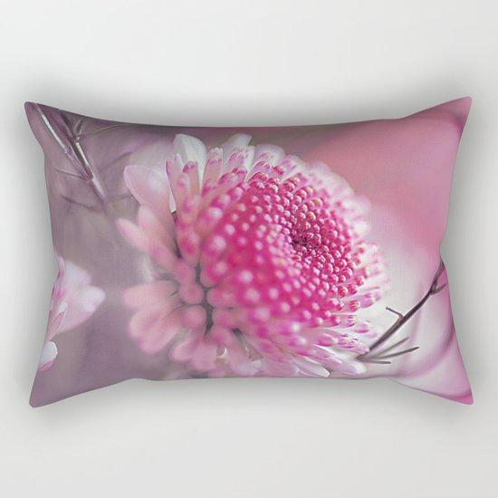 Romantic flower. Rectangular Pillow