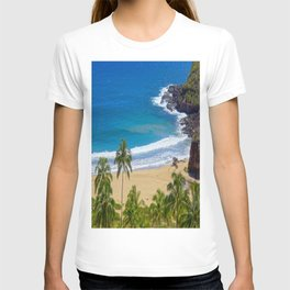 Hawaiian beach T-shirt