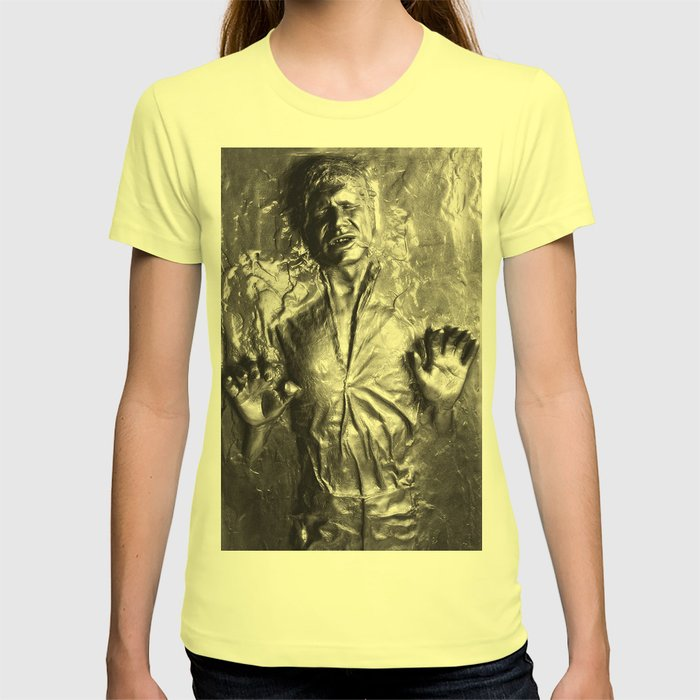Han Solo carbonite T-shirt by rossgilmore | Society6