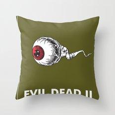 Evil Dead 2 - Green Throw Pillow