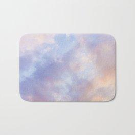 Pink sky / Photo of heavenly sky Badematte