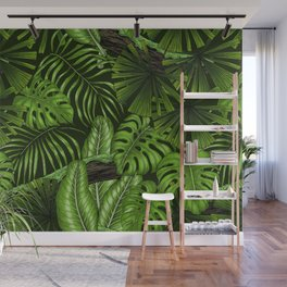 Jungle leaves  Wall Mural