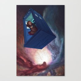 Impossible Girl Canvas Print