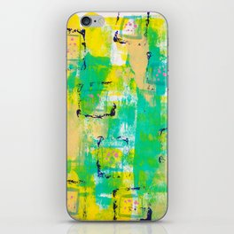 March Abstract TWO iPhone Skin