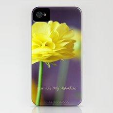 Yellow Ranunculus iPhone (4, 4s) Slim Case