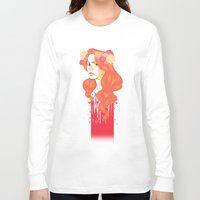 black widow Long Sleeve T-shirts featuring Widow by barbitone