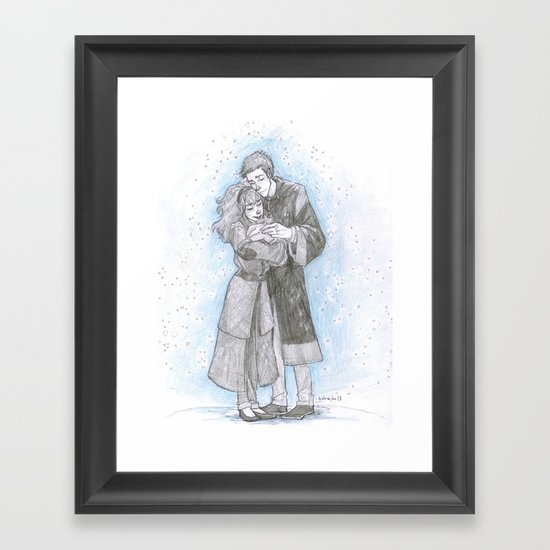 Warming Charm Framed Art Print