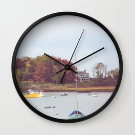 Kennebunkport Maine Wall Clock