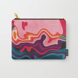 liquid shapes Carry-All Pouch