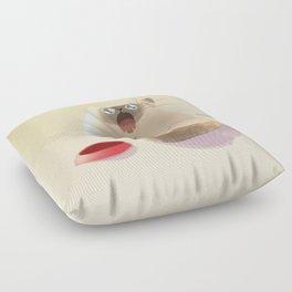 Poor Starving Baby Floor Pillow