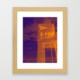 Surfer's Paradise Framed Art Print