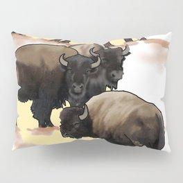 Roaming the Plains Pillow Sham