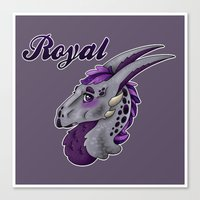 royal Canvas Prints featuring Royal by dewking