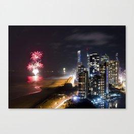 Happy New Year Canvas Print