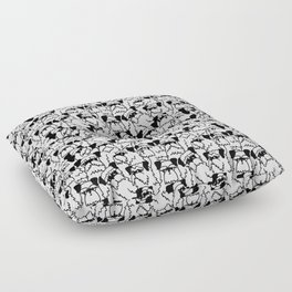 Oh Schnauzer Floor Pillow
