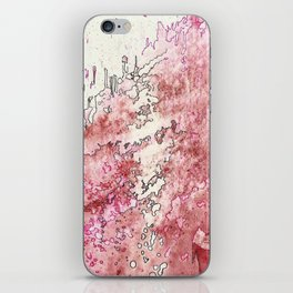 Pink Bubbles iPhone Skin