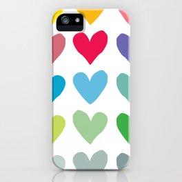 Heart pattern art  iPhone Case
