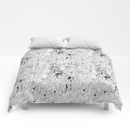 omega pattern Comforters