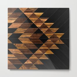 Urban Tribal Pattern 11 - Aztec - Wood Metal Print