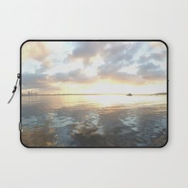 river clouds Laptop Sleeve