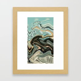 Sky Warp Framed Art Print