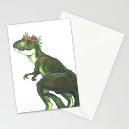 Pretty T-Rex Stationery Cards