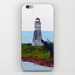 Lighthouse Cape Jourimain N-B iPhone Skin