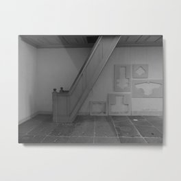 Frames and Stairs Metal Print