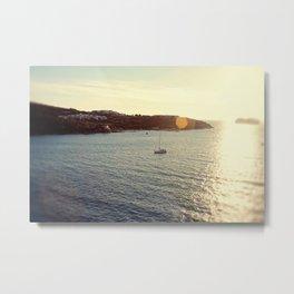 Sailing from the Sun Metal Print