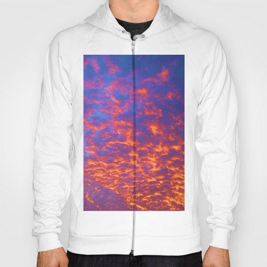 Coral Sky  Hoody