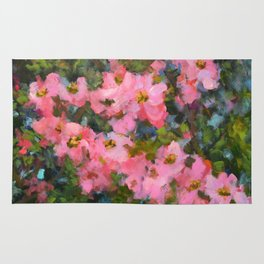Spring Apple Blossoms Rug