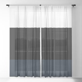 Three Colors Sheer Curtain