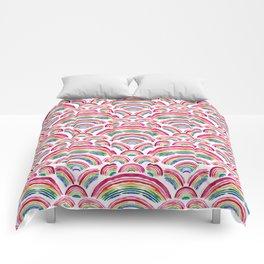 RAINBOWS ABOUND Comforters