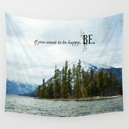 Be Wall Tapestry