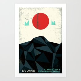 From the New World - Dvorak - Symphony No. 9 Art Print