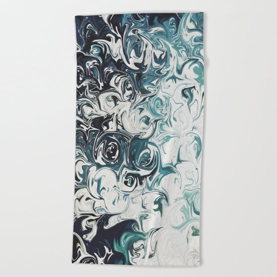 Abstract 137 Beach Towel