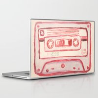 tape Laptop & iPad Skins featuring tape by muskawo