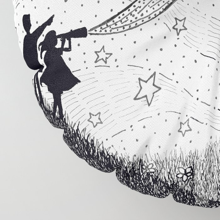 Bottling Starlight Floor Pillow