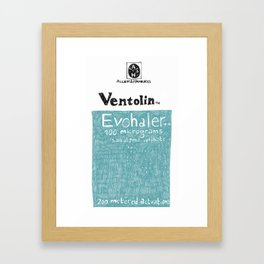 Ventolin Framed Art Print