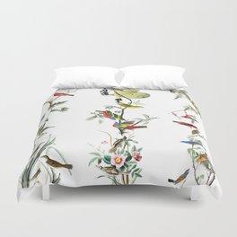 Birds - Art - Vintage - Pattern - Illustration - Nature Duvet Cover