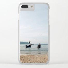 From Kata Beach Clear iPhone Case