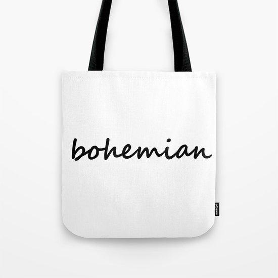 bohemian (1) Tote Bag