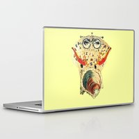 thrones Laptop & iPad Skins featuring Mystical uterus by Laura Nadeszhda
