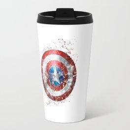 Captain . America Shield Superhero Travel Mug