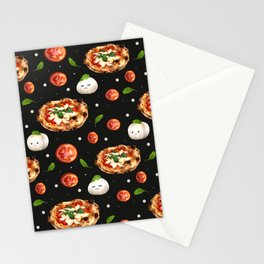 Neapolitan Pizza with  Stationery Cards