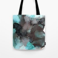 pool Tote Bags featuring Pool by Amie Amyotte