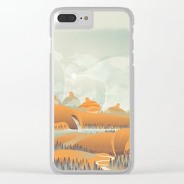 Mother Earth/Desert Patina Clear iPhone Case