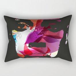 Sad Woman Rectangular Pillow