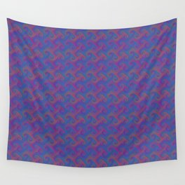 Colorful Trippy Swirly Pattern Wall Tapestry